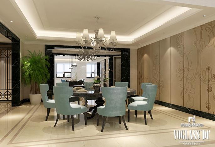 别墅装修 别墅设计 装修设计 软装配饰 尚层装饰 餐厅图片来自北京别墅装饰在上林世家 畅想新古典的分享