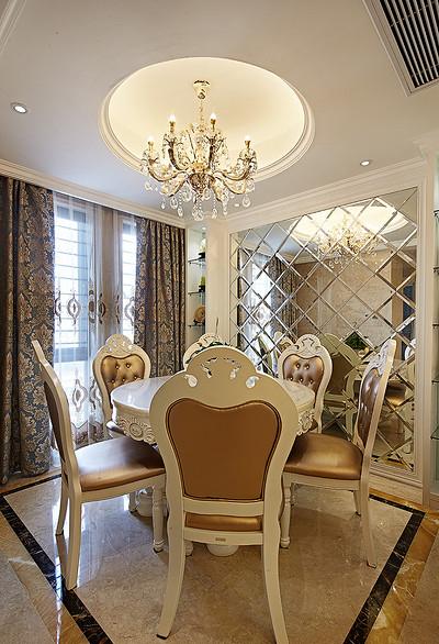 餐厅图片来自家装大管家在136平现代简约风 温馨风情家居的分享