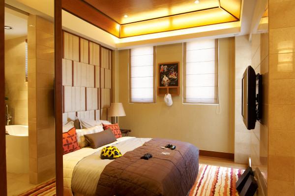 儿童房:充分地运用材质的特点,现代的设计也可以传达视觉与舒适的平衡。