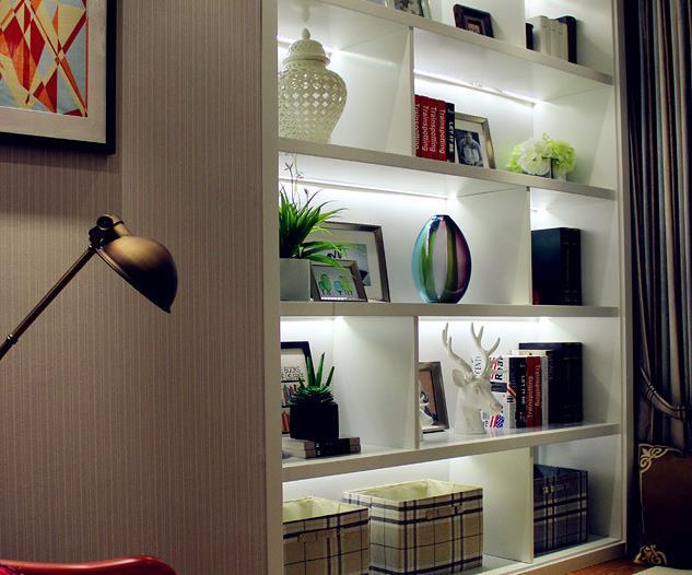 欧式 简约 三居 温馨 自然 收纳 客厅图片来自佰辰生活装饰在106平北欧风情三居空间的分享
