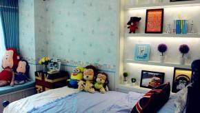 欧式 简约 三居 温馨 自然 收纳 儿童房图片来自佰辰生活装饰在106平北欧风情三居空间的分享