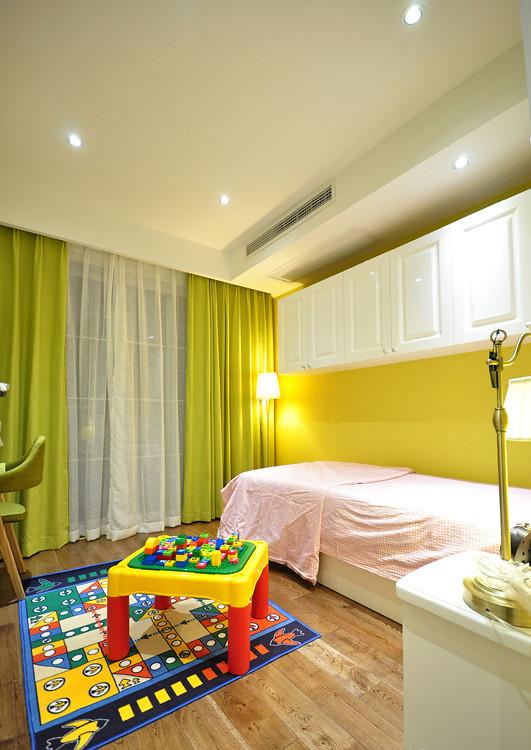 儿童房图片来自家装大管家在活色生香 102平现代时尚3居室的分享
