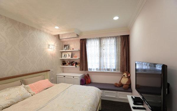 新房装修 旧房改造 现代简约 混搭风格 卧室图片来自周海真在75平简约居演绎衣帽间设计的神话的分享