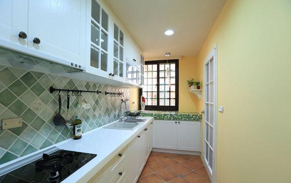 新房装修 旧房改造 现代简约 混搭风格 厨房图片来自周海真在75平简约居演绎衣帽间设计的神话的分享