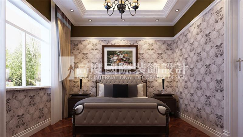 卧室图片来自北京高度国际装饰设计在河北玉田别墅360平新古典风格的分享
