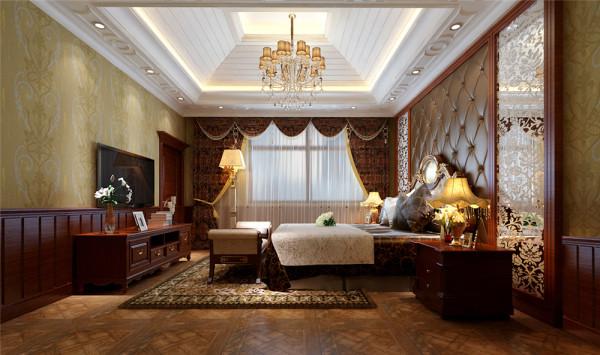 并且着重的设计了客厅及餐厅的欧式感觉,进入大门后,映入眼帘的便是客厅以及餐厅,空间十分宽敞,所以本案采用的大理石背景墙,整体感觉奢华而高贵。
