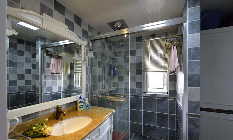 简约 三居 美式 混搭 白领 收纳 80后 小资 卫生间图片来自尚品老木匠装饰在华润二十四城-美式混搭的分享
