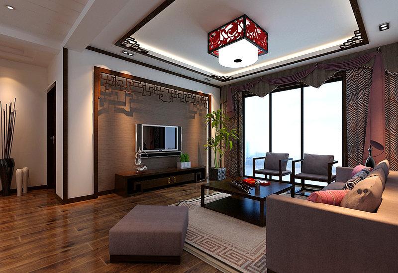 二居 80后 小资 客厅图片来自舞者vv在龙湖时代天街-新中式的分享