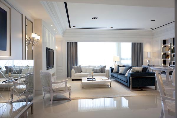 简约 客厅图片来自北京轻舟装饰公司在保利罗兰香谷的分享