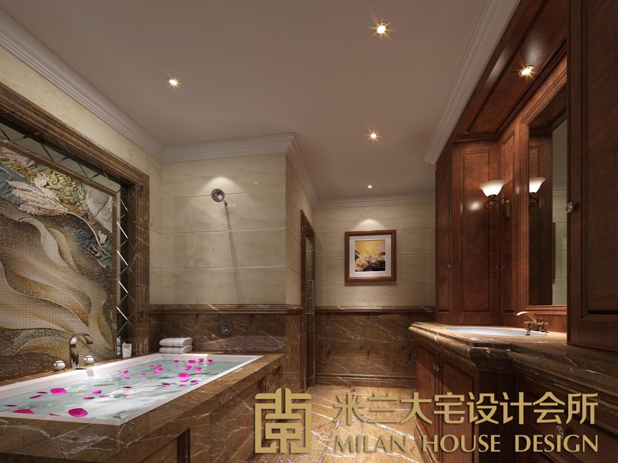 卫生间图片来自米兰大宅设计会所在爵士名邸—欧式混搭的分享