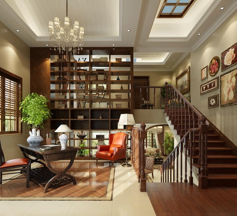 混搭 三世同堂 别墅装修 设计 温馨 舒适 其他图片来自北京别墅装饰在保利垄上645平米混搭风的分享