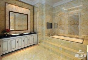 二手房 老房翻新 婚房 新古典 浪翻 温馨 大理石 木作 欧式 卫生间图片来自北京别墅装饰在新古典主义的旧房翻新的分享