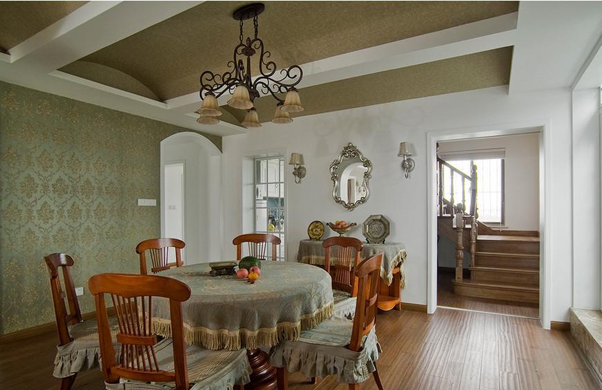 简约 田园 跃层 混搭 80后 小资 雅居乐 餐厅图片来自尚品老木匠装饰在雅居乐跃层-田园风格的分享