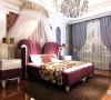 这就是儿子的婚房,同样选择的是红色的床品代表喜庆。欧式的风格,代表浪漫。