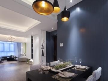 130平现代风格大气优雅之家
