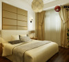 本案色调定位为米白色的暖色调,整体设计定位为简欧风格,运用软包的柔暖奢华、装饰玻璃的时尚镜像以及壁纸的饱满层次感打造出一个舒适温暖的家居空间