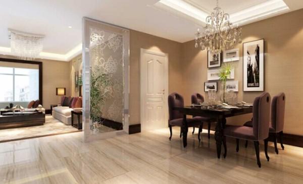 整个设计以简洁的表现形式来满足业主对空间环境的需求。