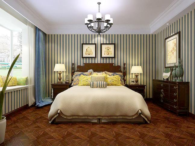 混搭 卧室图片来自四川岚庭装饰工程有限公司在安妮的午后的分享
