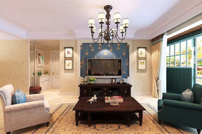 混搭 客厅图片来自四川岚庭装饰工程有限公司在安妮的午后的分享