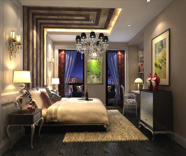 房间可采用反射式灯光照明或局部灯光照明,置身其中,舒适、温馨的感觉袭人,让那为尘嚣所困的心灵找到了归宿