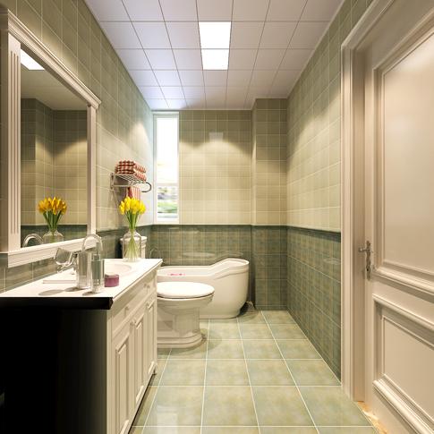 混搭 卫生间图片来自四川岚庭装饰工程有限公司在安妮的午后的分享