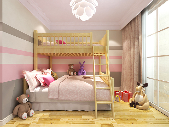 混搭 儿童房图片来自四川岚庭装饰工程有限公司在安妮的午后的分享