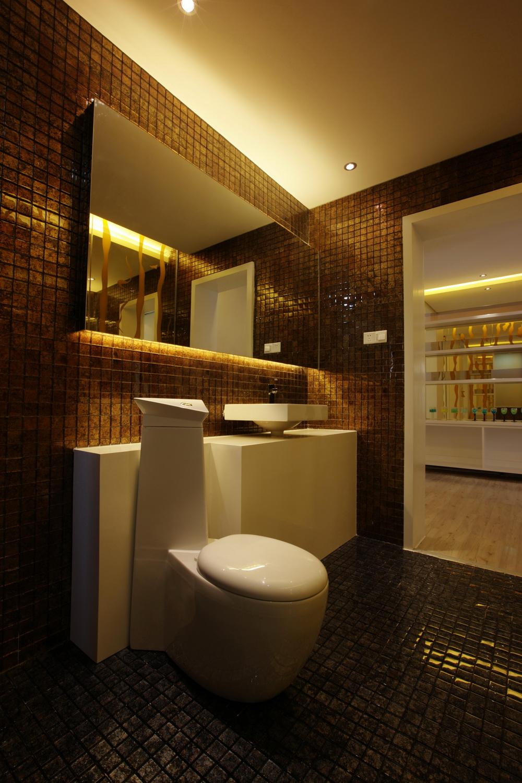 简约 现代简约 保利春天里 别墅定制 卫生间图片来自别墅装修设计--Hy在现代简约风格的分享