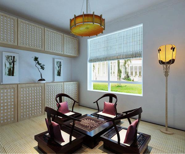 新房装修 二手房改造 现代简约风 书房图片来自周海真在140平现代简约演绎黑白绝美搭配的分享