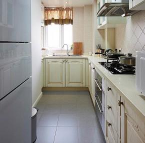 简约 现代 略带混搭 干净 舒适 厨房图片来自佰辰生活装饰在90现代简约时尚爱家的分享