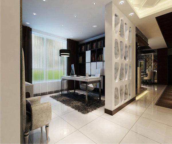 新房装修 二手房改造 现代简约风 餐厅图片来自周海真在140平现代简约演绎黑白绝美搭配的分享