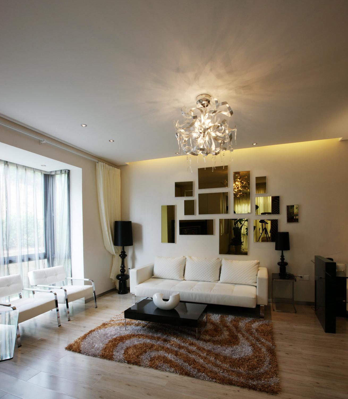 简约 现代简约 保利春天里 别墅定制 客厅图片来自别墅装修设计--Hy在现代简约风格的分享