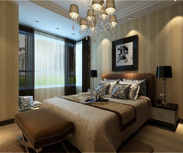 新房装修 二手房改造 现代简约风 卧室图片来自周海真在140平现代简约演绎黑白绝美搭配的分享