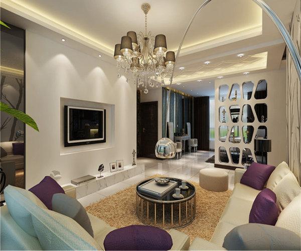 新房装修 二手房改造 现代简约风 客厅图片来自周海真在140平现代简约演绎黑白绝美搭配的分享