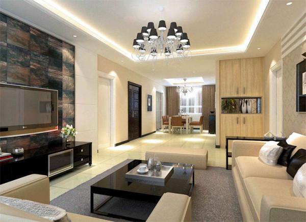 设计理念:客厅:优雅宁静,平淡中的华丽 餐厅:追求惬意生活。给人视觉的、精神上的享受。