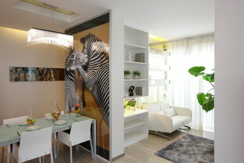 简约 现代简约 保利春天里 别墅定制 餐厅图片来自别墅装修设计--Hy在现代简约风格的分享