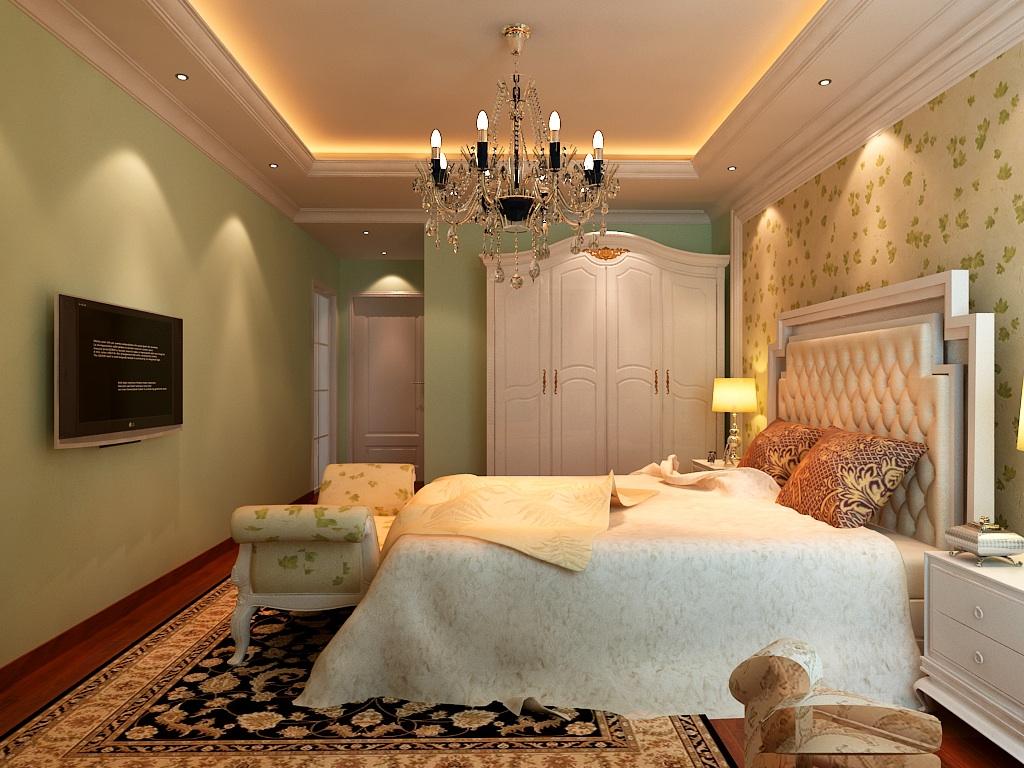 简欧风格 欧式风格 天地凤凰城 别墅装修 卧室图片来自别墅装修设计--Hy在简欧风格--天地凤凰城的分享
