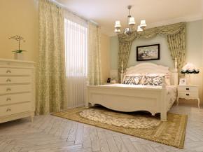今朝装饰 玫瑰湾 地中海 三居 温馨 卧室图片来自石家庄今朝生态家居馆在玫瑰湾110平地中海风格!的分享