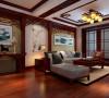 庄重优雅的中式别墅设计