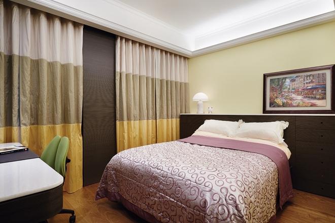新古典风格 三居 杨浦区装修 卧室图片来自实创装饰上海公司在135平时尚新古典主义优雅公寓的分享
