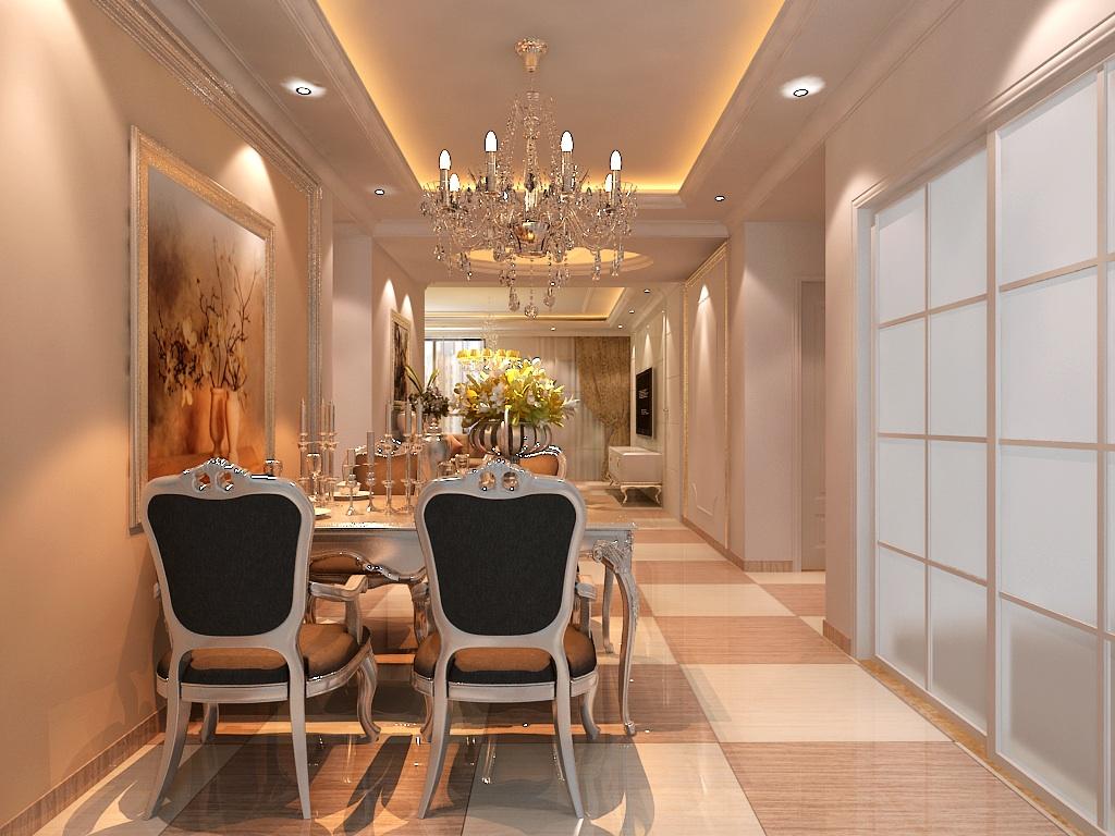 简欧风格 欧式风格 天地凤凰城 别墅装修 餐厅图片来自别墅装修设计--Hy在简欧风格--天地凤凰城的分享