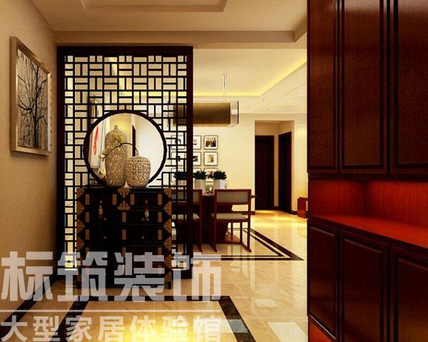 中式 标筑 成都装修 三居 客厅 卧室 厨房 玄关图片来自四川标筑装饰公司在标筑装饰-中式风格的分享