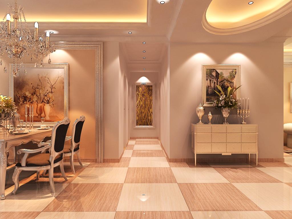 简欧风格 欧式风格 天地凤凰城 别墅装修 玄关图片来自别墅装修设计--Hy在简欧风格--天地凤凰城的分享