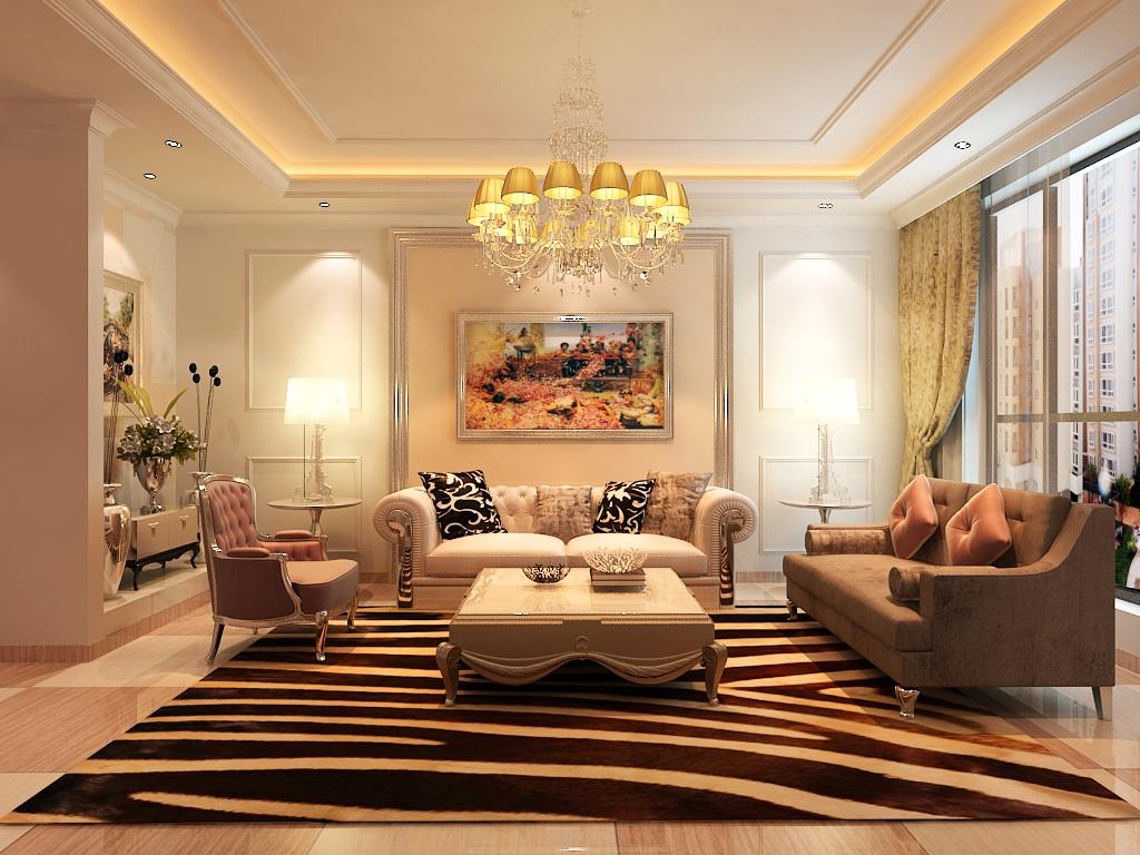 简欧风格 欧式风格 天地凤凰城 别墅装修 客厅图片来自别墅装修设计--Hy在简欧风格--天地凤凰城的分享