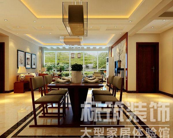 中式 标筑 成都装修 三居 客厅 卧室 厨房 餐厅图片来自四川标筑装饰公司在标筑装饰-中式风格的分享