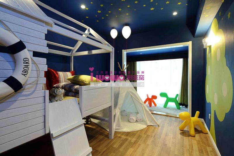 loft 现代简约 儿童房 儿童房图片来自爱窝窝精致家装机构在精致六边形的分享