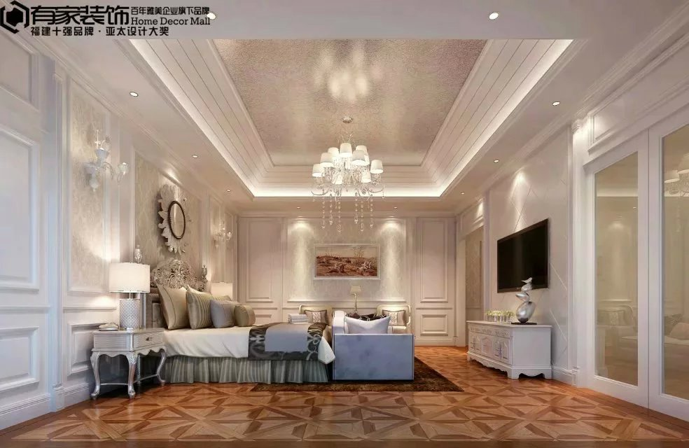 简约 欧式 卧室图片来自福州有家装饰工程有限公司在【有家装饰】福清自建别墅的分享