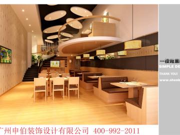 可圈可点茶餐厅装修设计