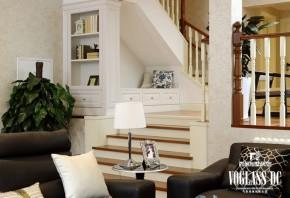 欧式 别墅 简约 舒适 典雅 自然 浪漫 别墅设计 别墅装修 楼梯图片来自北京别墅装饰在一栋洋房简欧联排别墅设计的分享