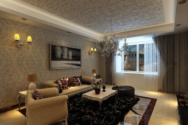 欧风格作为欧式风格,其特征是强调线形流动的变化,将室内雕刻工艺集中在装饰和陈设艺术上,色彩华丽且用暖色调加以协调,变形的直线与曲线相互作用以及猫脚家具与装饰工艺手段的运用,构成室内华美厚重的气氛。