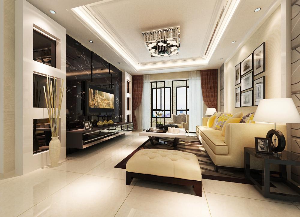 简约 别墅 现代 客厅图片来自申伯装饰在安徽六安市徐先生家装设计的分享